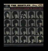 beatles - a hard day's night , signed by george martin